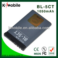 Low Price BL-5CT Battery For Nokia 5220XM 6303C 6730C C3-01 C3-01m C5-00 C5-02 C6-01