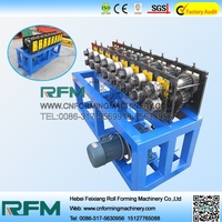 FX metal roof ridge cap mini steel hot rolling mill