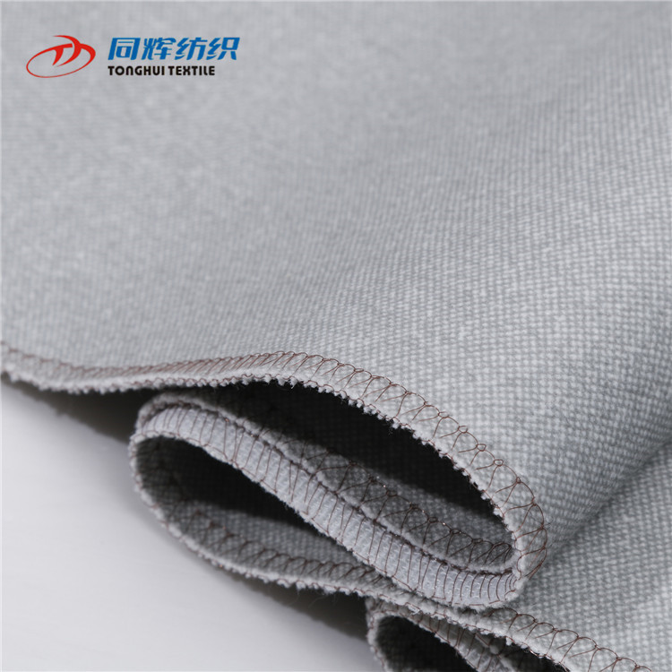 Competitive Hot Sales Polyester Velvet Linen Imitation Fabric For Salee