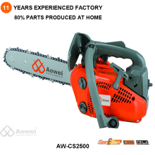 Hand powered gsoline chainsaw 2500 with spare parts