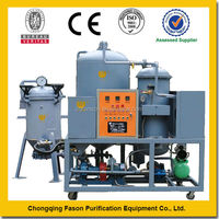 High viscosity and Fiter-free waste engine oil recycling machine