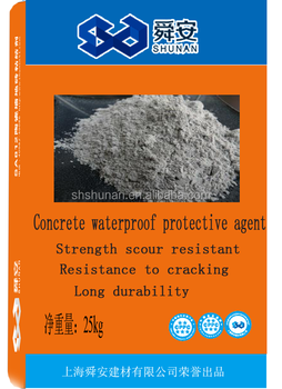 Concrete waterproof protective agent for building