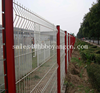 Triangle Bending PVC Coated Galvanized BRC Weld Mesh Fence
