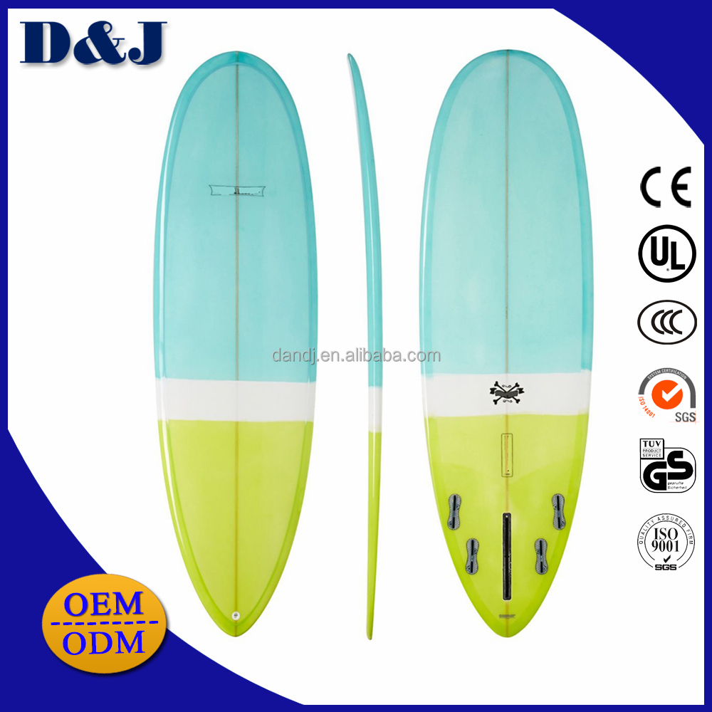 Custom your own brand best beginner soft surfboard with HDPE bottom