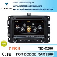 S100 Car Radio For Dodge Ram 1500 with GPS A8 Chipset 3 zone POP 3G/wifi BT 20 dics playing