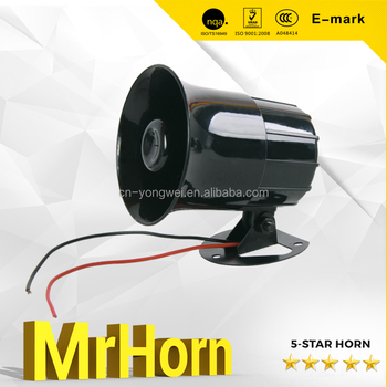 three tone car reverse horn/alarm horn 12V