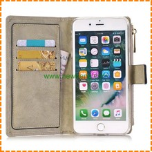 High quality retro detachable leather wallet case for iphone 7 7 plus