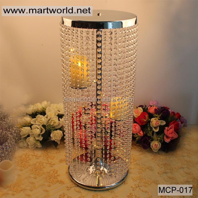Bling crystal centerpiece wedding centerpieces wedding for Wedding party centerpieces