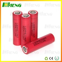 (wholesale)he4 he2 18650 battery ICR18650HE2/HE4 2500mah LG 35A discharge