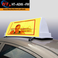 Pizza super bright led car roof advertising light