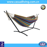 Brazilian Double Size Oasis Hammock with Heavy Duty Stand and Carry Bag