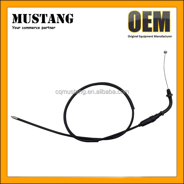 China dirt bike high quanlity motorcycle throttle control cable