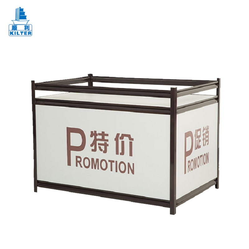 Fast supplier stand food metal plate display