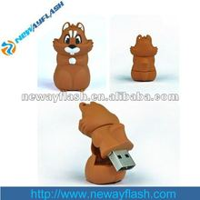 Squirrel shape usb stick animal usb flash memory stick