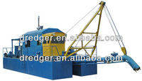large sand cutter suction dredging machine