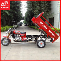 China 3 wheel family motor tricycle cargo trike three wheeler