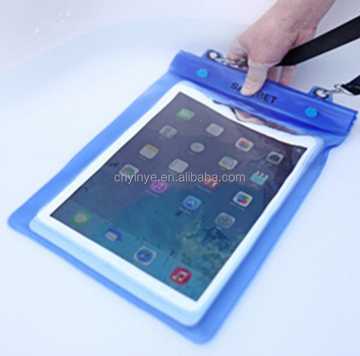 Swimsuit waterproof dry bag for tablet waterproof swimming bag for ipad