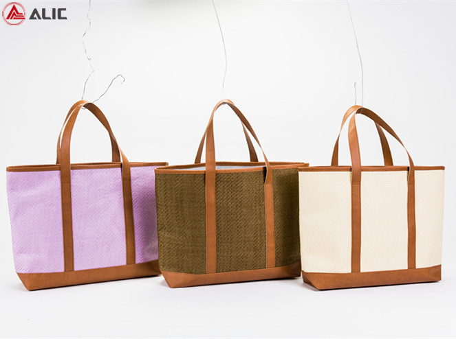 Wholesale Fashion Paper Straw Shopping Bag