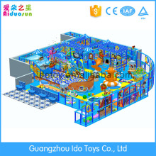Magic kids backyard toy indoor playground with small play house