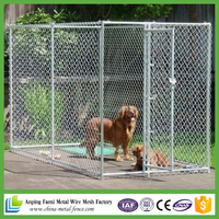 amazon selling hot dip galvanized cheap chain link dog kennel