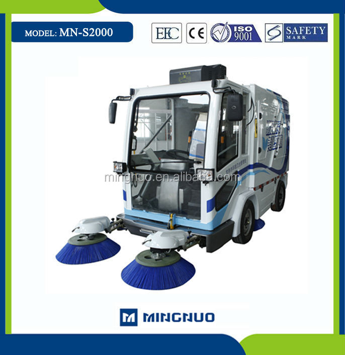 MN-S2000 city sweeper car , vacuum Compact sweeper ,rechargable battery sweepers