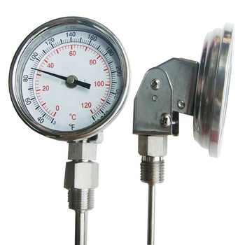 0-120 Degrees Industry Adjustable bimetallic thermometer