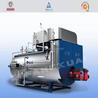 Oil fired steam boiler for pharmacy in Uzbekistan with oilon burner