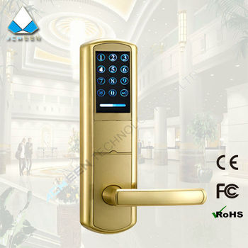 touch-screen password rfid electronic lock digital combination number door lock with romote control