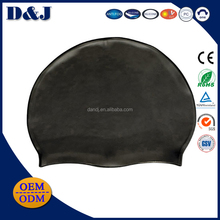 High Quality Polyester Swimming Caps and Glasses