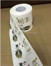 factory price direct sale Wedding toilet paper novelty funny toilet paper