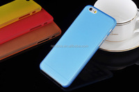 New design 0.3mm Ultra Thin Transparent Clear Soft Hard Plastic PC Frosted Matte Back Case for HTC M8