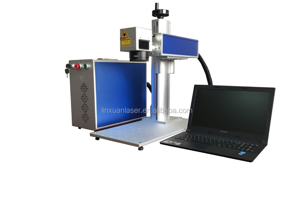 good quality cheap and small metal qr code laser engraving machine