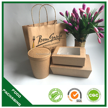 takeaway food container biodegradable to go box china factory