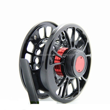 Twin carbon disc drag system large arbor saltwater waterproof fly fishing reel