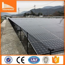 Japan solar power fence