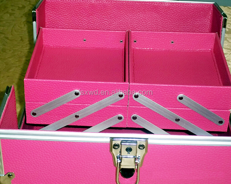 Aluminum Tool Case with foam and drawer Carrying case
