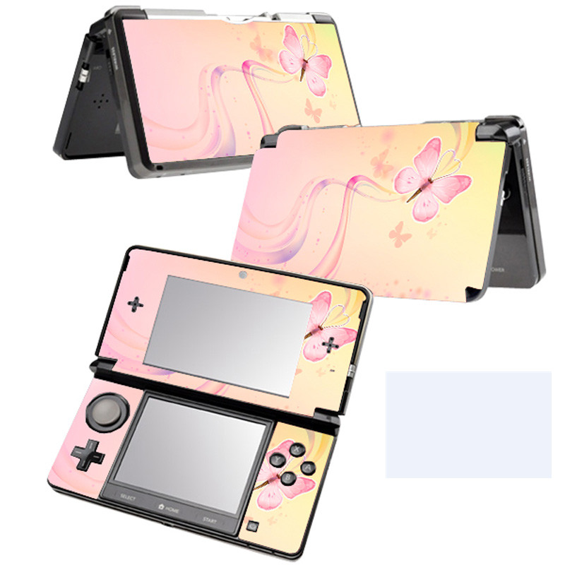 China factory sticker for N 3DS protective game skin sticker for N 3DS #TN-N 3DS-037