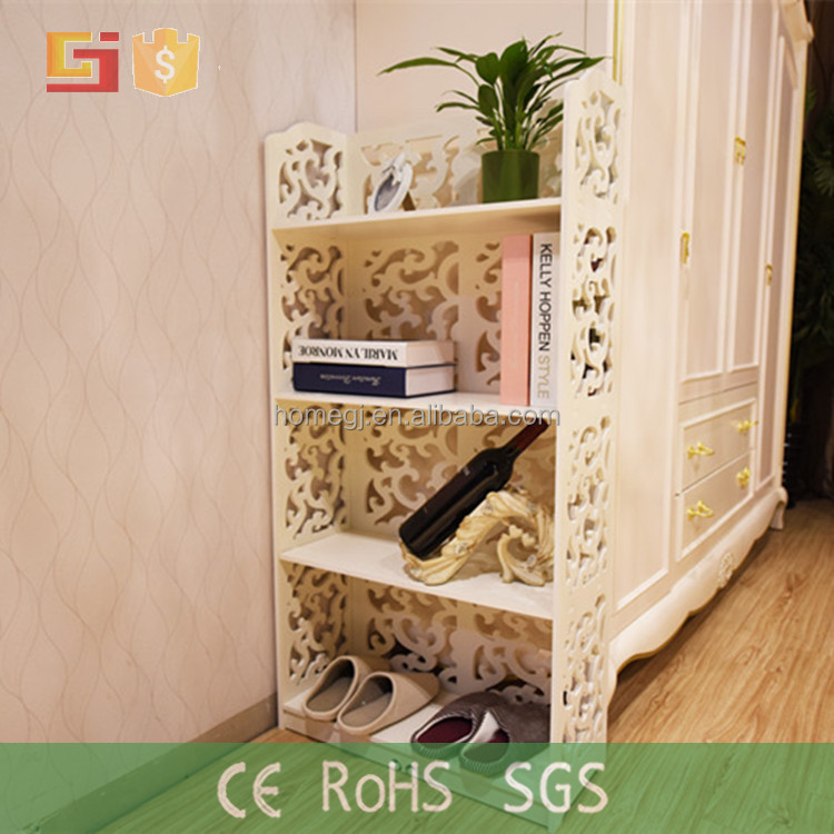 Syrian living room furniture personal design plastic bookcase