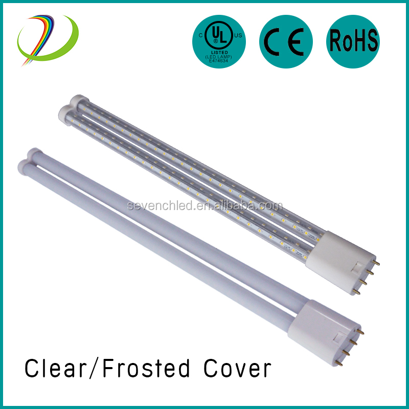 clear & milky cover led 2g11/4 pin led lamp pl lamp 2G11