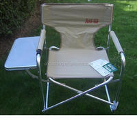 folding director chair with table,cheap outdoor portable camping chair,beach chair