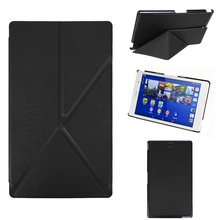 "Smart Origami PU leather case for Sony Xperia Z3 tablet 8"" inch"
