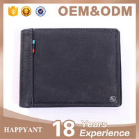 newest high quality genuine leather waterproof men's wallet