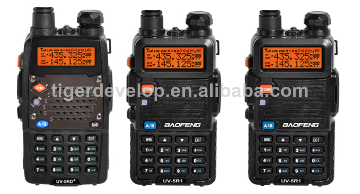 Ham radio baofeng UV-5R with 3800mah Li-ion battery dual band uv 5r walkie talkie 8W