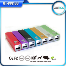 Outtos famous brand mobile power bank 5V 2600mAh
