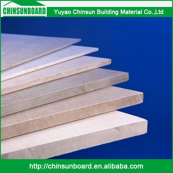 Superior Materials Moderate Price Waterproof Fireproof Fibre Cement Board