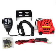 New Red QYT KT-8900 Dual Band U/V 25W 200CH Scrambler CTCSS/DCS FM DTMF Scan Mobile Taxi Amateur Car Radio Transceiver