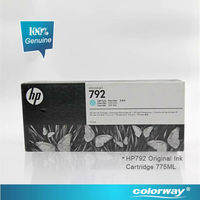 New HP DesignJet 792 black Ink Cartridge Genuine