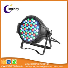 Christmas led mini light Guangzhou IP65 54*3w rgbw 4in1zoom led par can light price