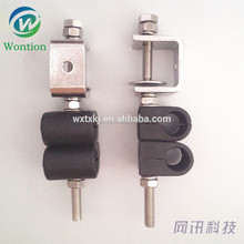 stainless steel the wall style duplex feeder cable clamp
