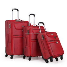 "Hot selling eva with nylon material 20""24""28"" 3pcs trolley luggage"